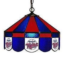 MLB Team Tiffany Style Stained Glass Lamp - 16""