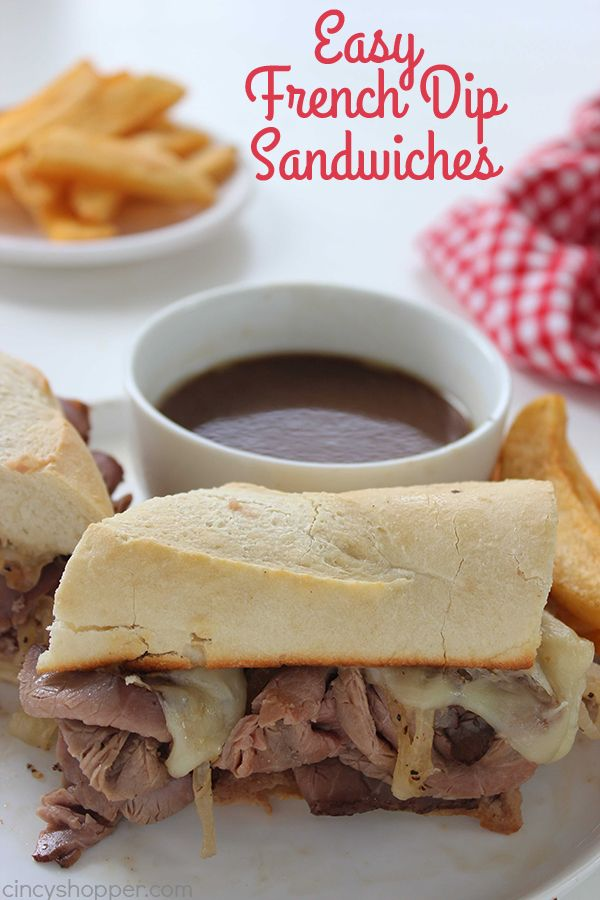 These Easy French Dip Sandwiches make for a perfect quick family dinner. Store bought deli roast beef, cheese, onions, and homemade au jus for dipping. PERFECT! Easy French Dip Sandwiches I like to share our quick and easy dinner ideas here on our blog. Earlier this week, I shared our Easy Turkey Sandwiches because those...Read More