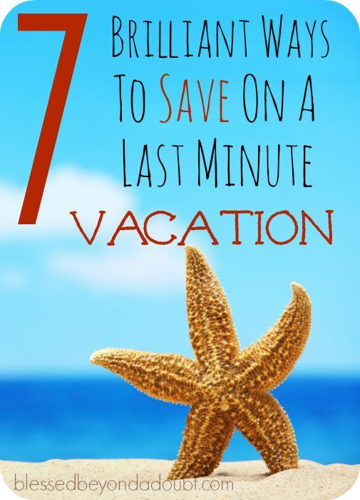 17 best images about frugal living ideas on pinterest for Last minute vacation ideas