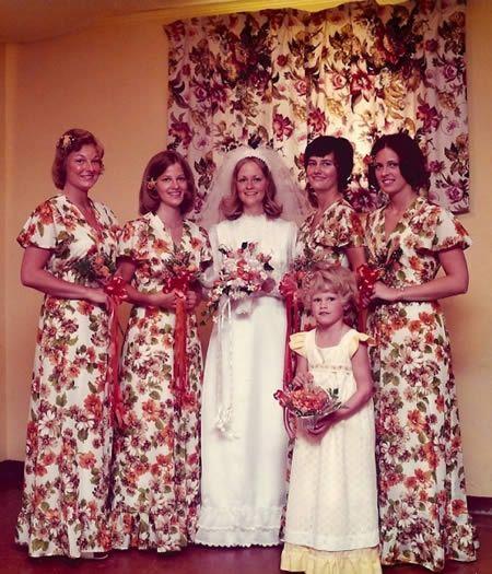 A Scarlet O'Hara wedding.....