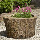 Campania International Adirondack Cast Stone Planter