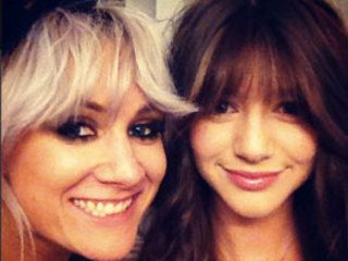 Eleanor Calder and Danielle Peazer hang out backstage with Lou Teasdale at One Direction gig: PICS