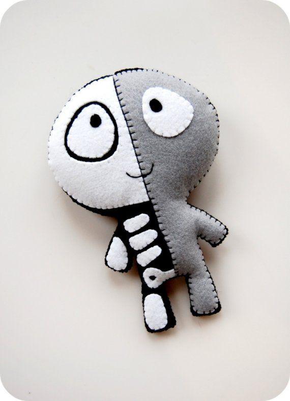The Half Plush / Eco Friendly Handmade Stuffed Toy by vivikas, $28.00