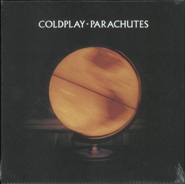 Obálka knihy  Parachutes od Coldplay, ISBN:  0724352778317