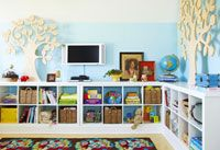 Love everything about this toy room