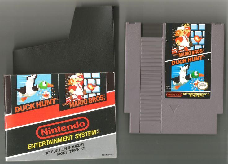 Vintage 1985 Super Mario Bros. Duck Hunt Game, Nintendo Games, Vintage Toys, Antique Alchemy