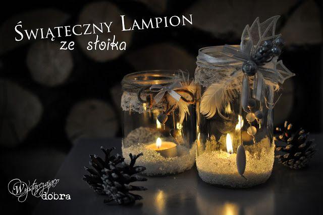 Wystarczająco dobra: Świąteczne lampiony ze sloików DIY
