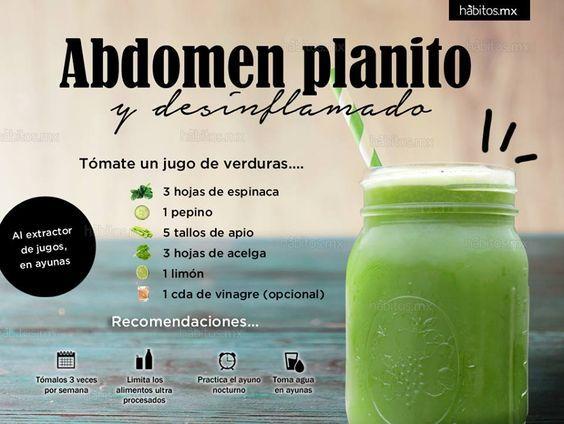 Hábitos Health Coaching | JUGO DE VERDURAS PARA ABDOMEN PLANO