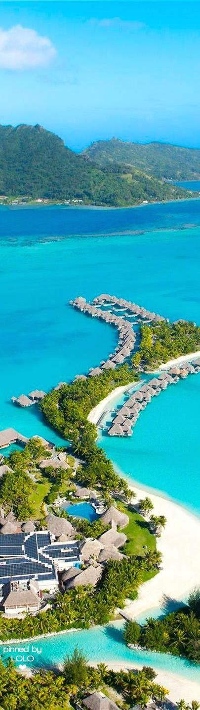 Most Beautiful resort In The World! Four Seasons Bora Bora. Click To Book! Plan Your Travel Itinerary With TripHobo!