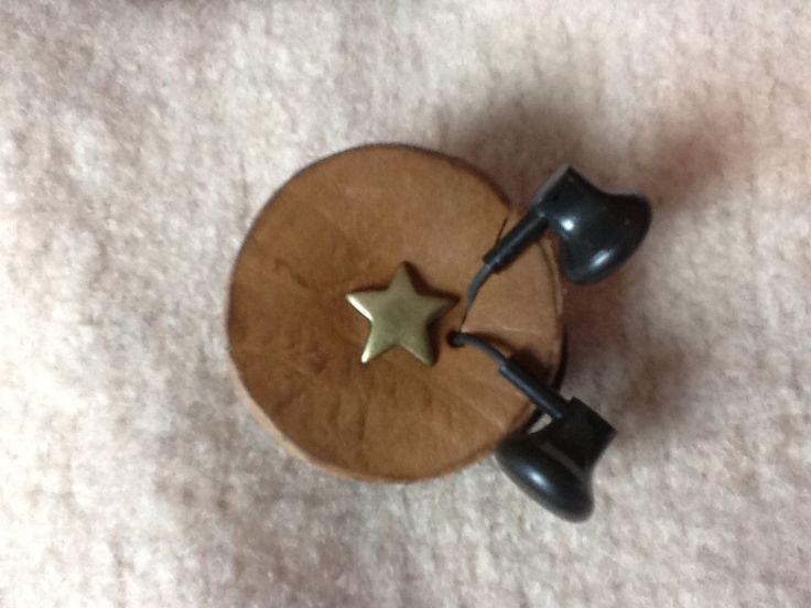 Leather earplug-holder.  Nice gift idea!