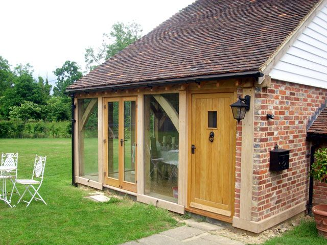 Garden room extension garden pinterest for Garden house extension