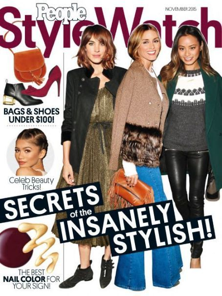 Olivia Palermo People Style Watch September 2015 Cover
