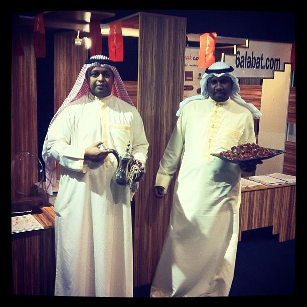 Arabic coffee at @alsnboook exhibition
