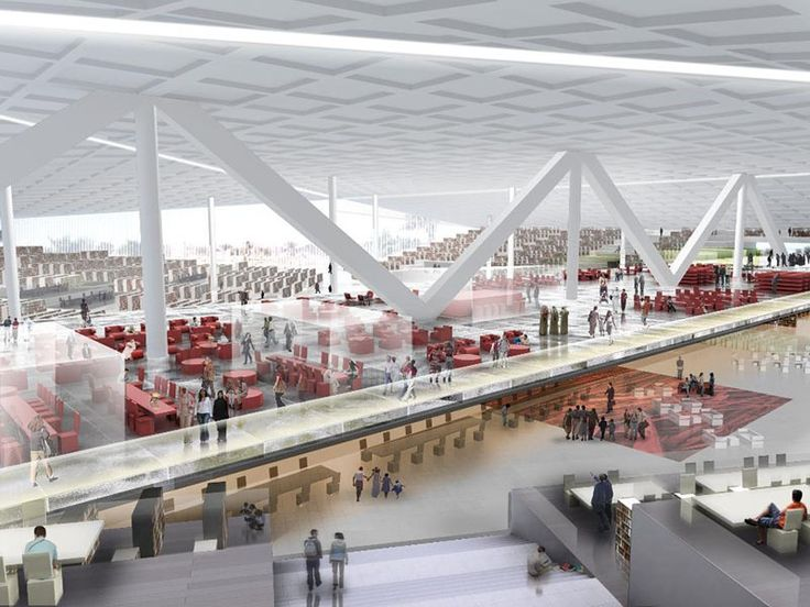 Oma to design iconic qatar national library libraries for Architecture companies qatar