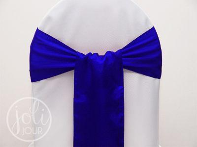 Decorations Voilage Bleu Et Blanc Pour Mariage