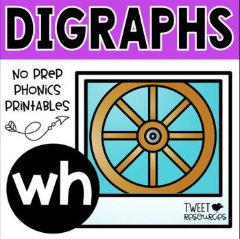 Teach the digraph 'wh' with this easy to use fun and interactive printables package! 20 pages of activities and printables are included that will provide a comprehensive program for teaching the initial consonant digraph 'wh'. All the activities in this package are common core aligned (CCSS.ELA-LITERACY.RF.1.3.A: Know the spelling-sound correspondences for common consonant digraphs).