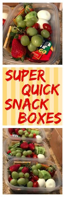 The Food Hussy!: Food Hussy: EZ Snack Boxes & Weekly Meal Plan