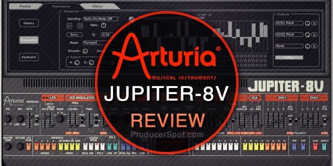 Review: Arturia Jupiter-8V Synth Plugin http://www.producerspot.com/review-by-rafael-arturia-jupiter-8v-synth-plugin