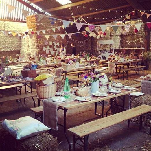 TNWC Real Brides Married! Caroline's back to tell us all about her laid back eco-friendly farm wedding
