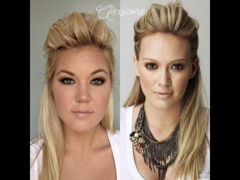 Pretty cool hair tutorial teaching you how to get Hilary Duff's Half Up, Half Down Hair! Get more hair inspiration. Watch Hilary Duff in Younger on TV Land. Tuesdays, 10/9C, http://www.tvland.com/shows/younger.