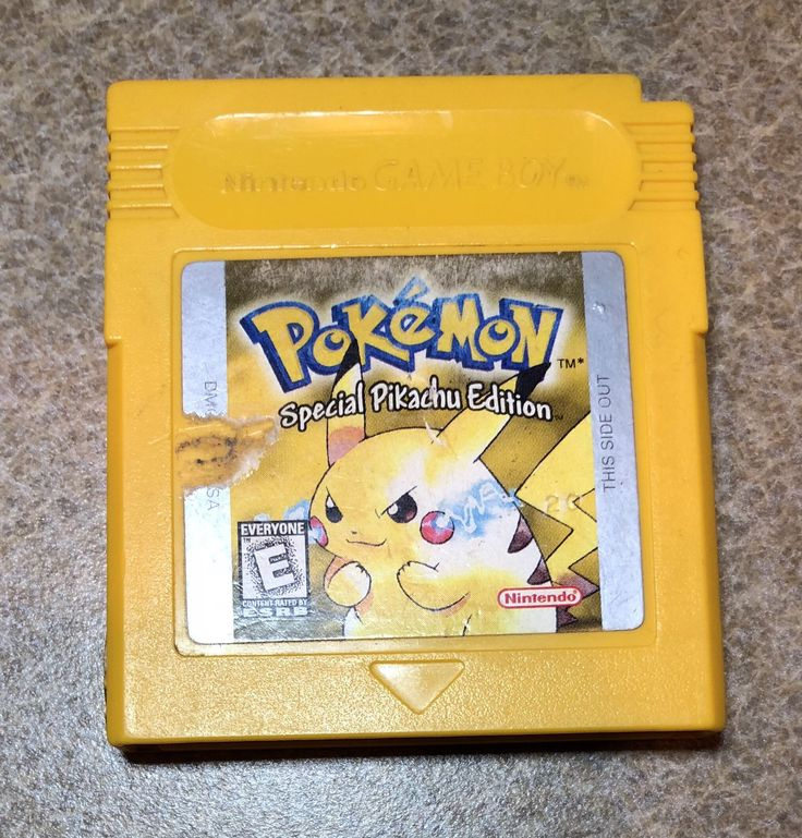 Pokemon Special Pikachu Edition for Gameboy Color by RetroNerdShop on Etsy https://www.etsy.com/listing/589269497/pokemon-special-pikachu-edition-for
