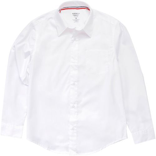 French Toast Toddler Boys' Long Sleeve Dress Shirt (White, Size 3 Toddler) - School Uniforms, Boy's Uniform Tops at Academy Sports