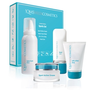 The Sports Set: Created to commemorate a special year in sport, QMS Medicosmetics inaugural Sports Set features a high performance combination of facial and body #skincare.