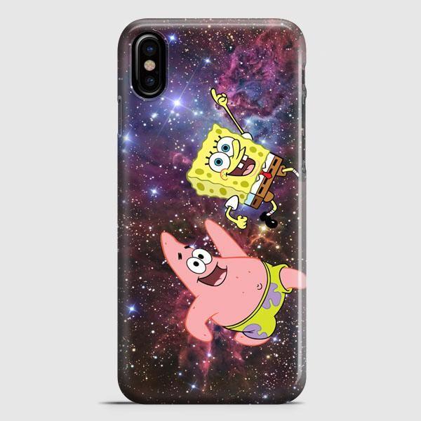 Spongebob Face 2 iPhone X Case | casescraft