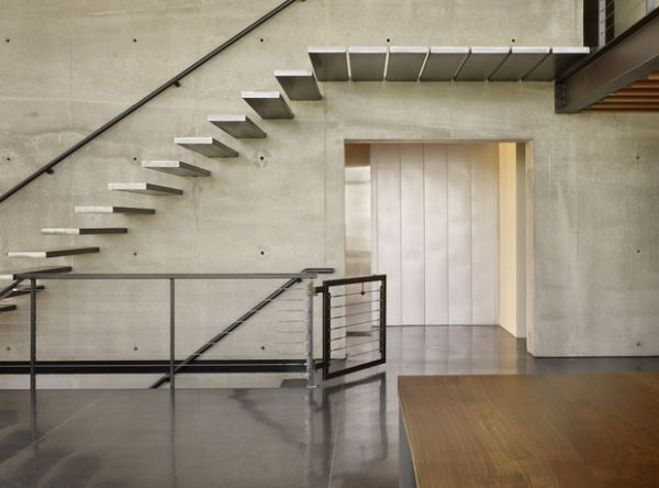 Best Architecture And Design Images On Pinterest Clock Ideas - Suspended style floating staircase ideas for the contemporary home