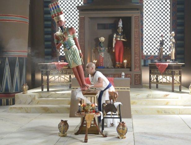 Os Dez Mandamentos - Simut tenta fugir de Yunet e quebra estátua do faraó #Fotos, #OsDezMandamentos, #Record http://popzone.tv/os-dez-mandamentos-simut-tenta-fugir-de-yunet-e-quebra-estatua-do-farao/