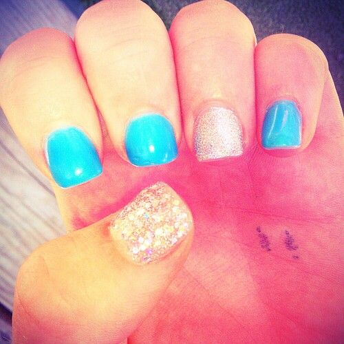 111 best Glitter acrylic nail tips images on Pinterest