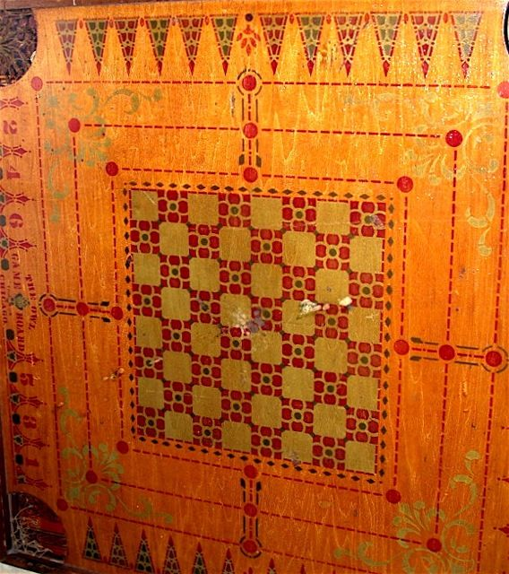 old carrom board game