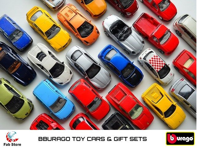 Add the bburago collection to your die-cast's garage. The scaled versions of a gorgeous luxury car models are available at Fab Store outlet at Spinneys the Pearl. Visit our outlet or www.fab-store.com today