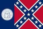 """On This Day In 2003,The Georgia Legislature Omitted """"Confederate flag"""" Design From State Flag ... http://liveitloveitdoit.com/site/2013/04/on-this-day-in-2003the-georgia-legislature-omitted-confederate-flag-design-from-state-flag/"""