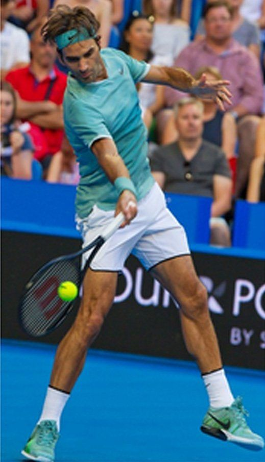 match Roger Federer / Evans 2 Janvier 2017 Hopman Cup 2017 Perth…