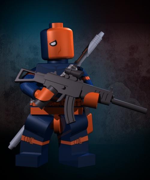 deathstroke lego-#40