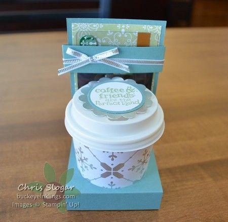 November 19, 2014 by Chris Slogar Buckeye Inklings: Coffee Cup Gift Card Holder
