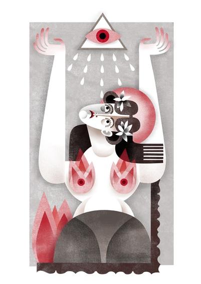 maría corte : illustration/ilustración