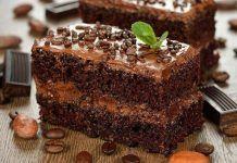 Prăjitură aromată cu cremă de cafea, te energizează după o masă copioasă