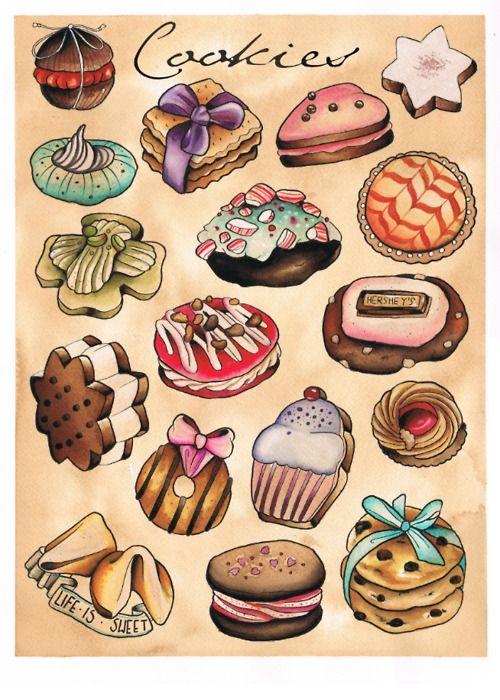 cookie tattoos