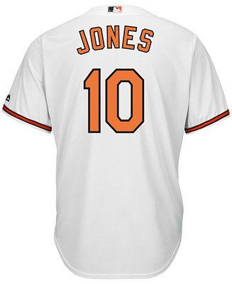 Majestic Men's Adam Jones Baltimore Orioles Replica Jersey - Sports Fan Shop By Lids - Men - Macy's