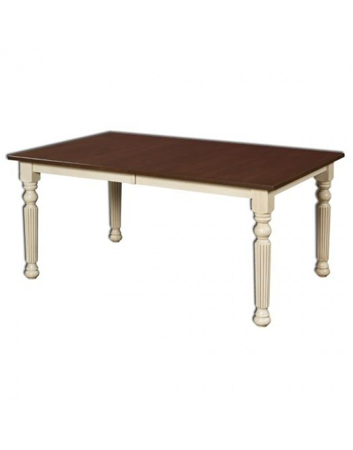Shop Online Amish Furniture For Lincoln Fluted Table   Great Deals And A  Huge Selection On All Amish Made Furniture