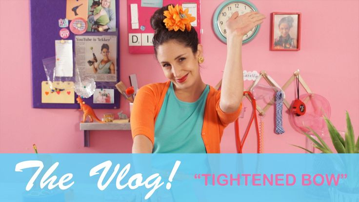 Suzelle's Vlog - Tightened Bow