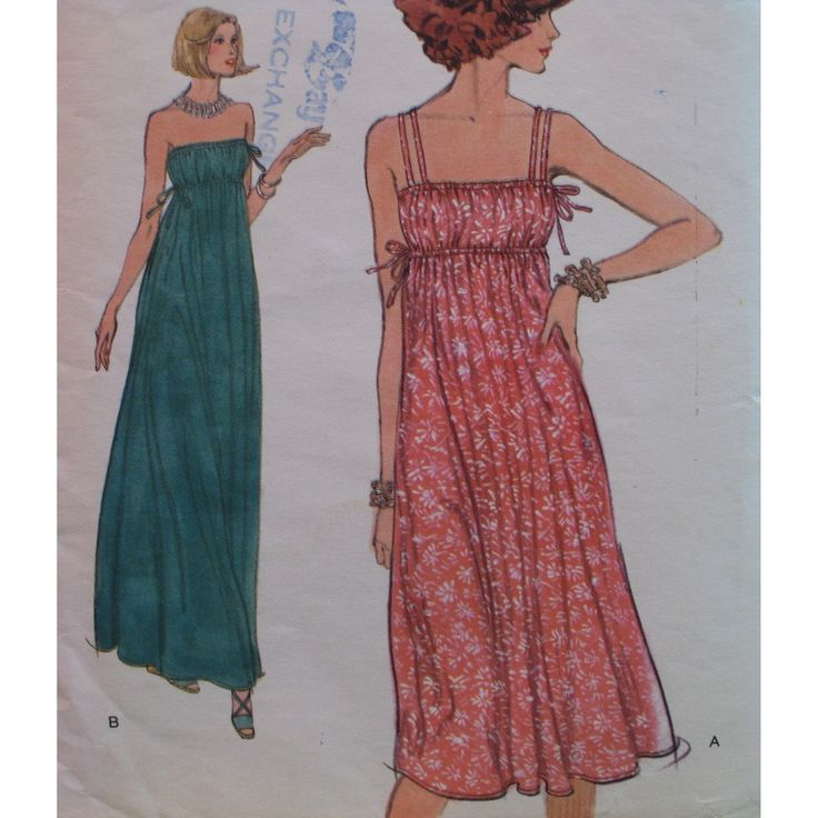 17  ideas about Maxi Dress Patterns on Pinterest - Easy dress ...