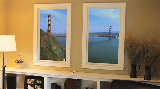 25 best False windows images on Pinterest   Window frames ...