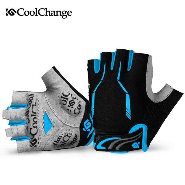 2017 Pro team cycling gloves guantes ciclismo Half finger Mountain bike gloves bicycle bicicleta luvas ciclismo For mtb 3 colors
