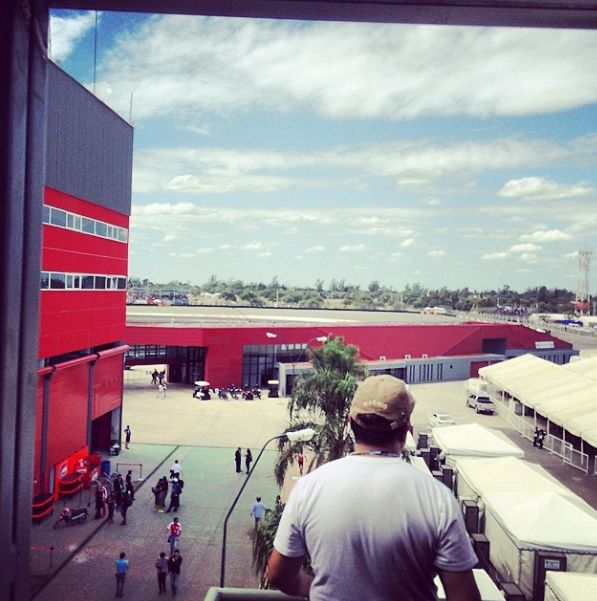 Parte de la pista al fondo #autodromotermasderiohondo #motogp @yonny68
