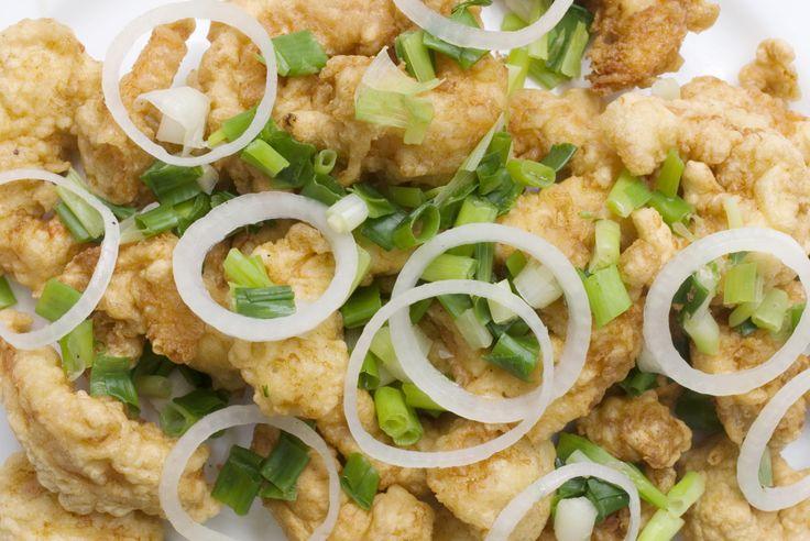 Tartare d'avocat tempura