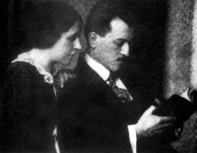 El matrimonio Dénes Valéria Galimberti Sándor.