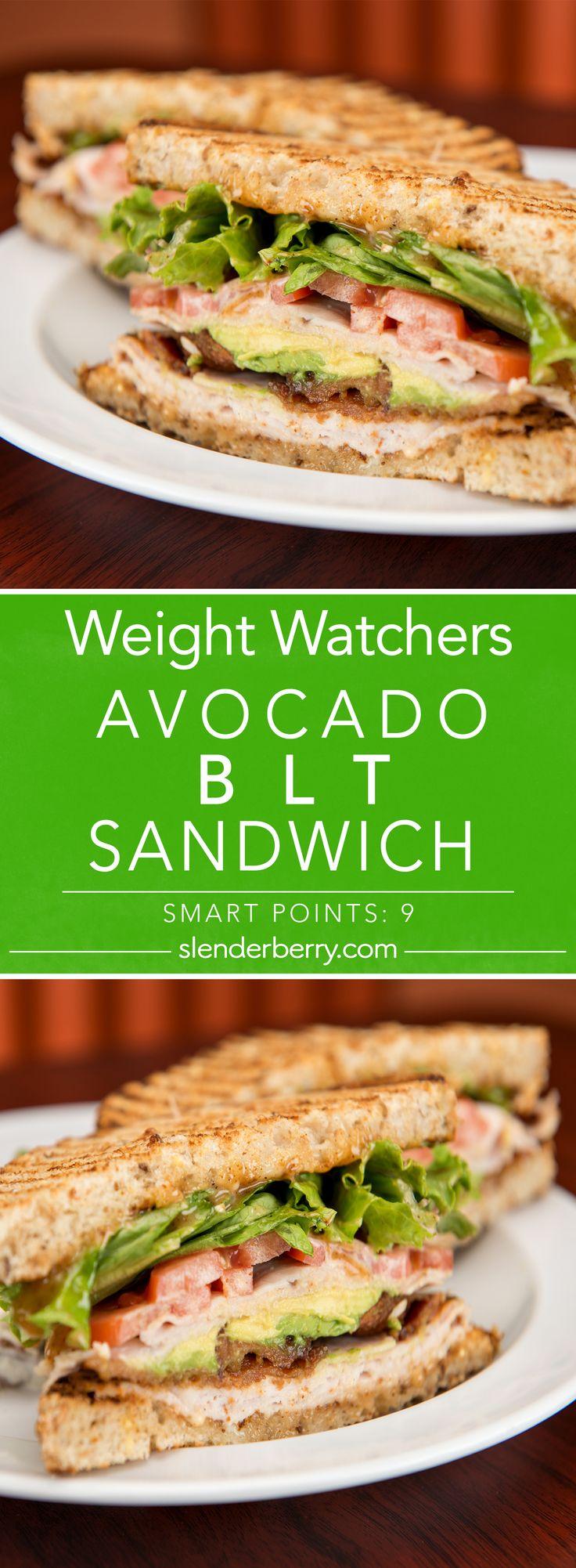 Weight Watchers Avocado BLT Sandwich Recipe - 9 Smart Points